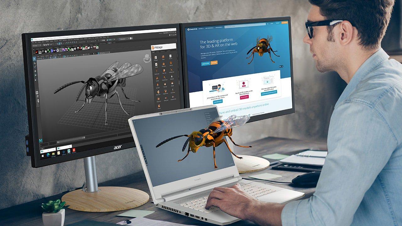 Acer lança novos notebooks e monitor