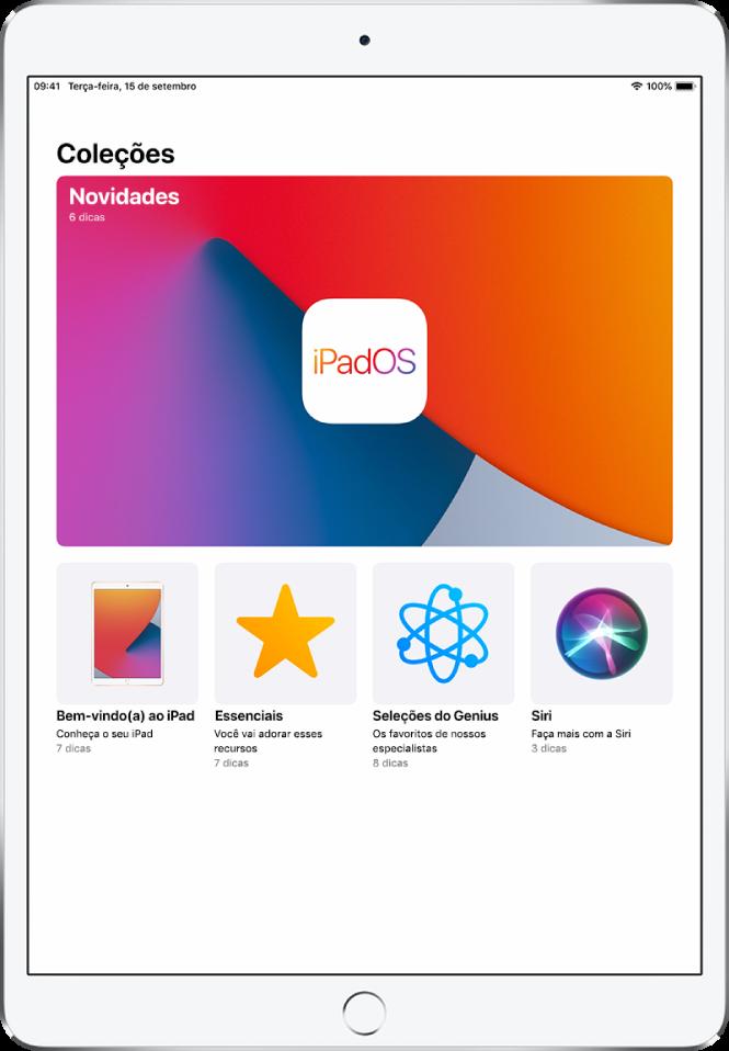 Acesse o app dicas - dicas e truques do ipad