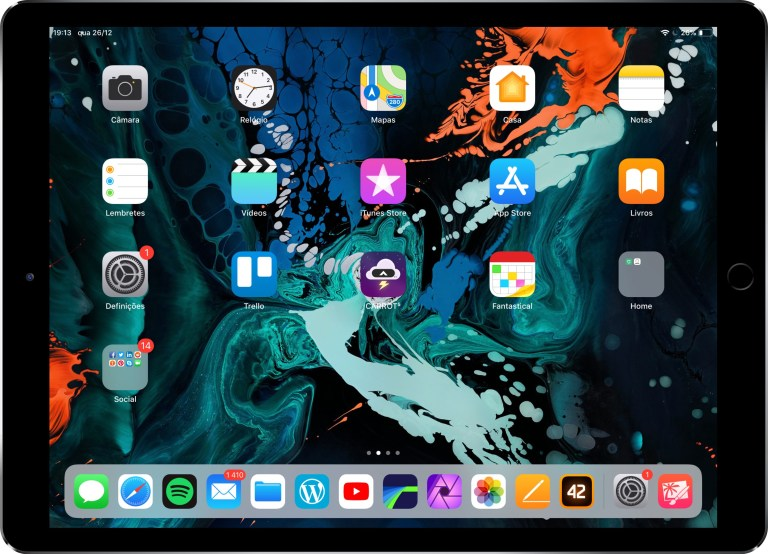 Muitos itens no dock - dicas e truques do ipad