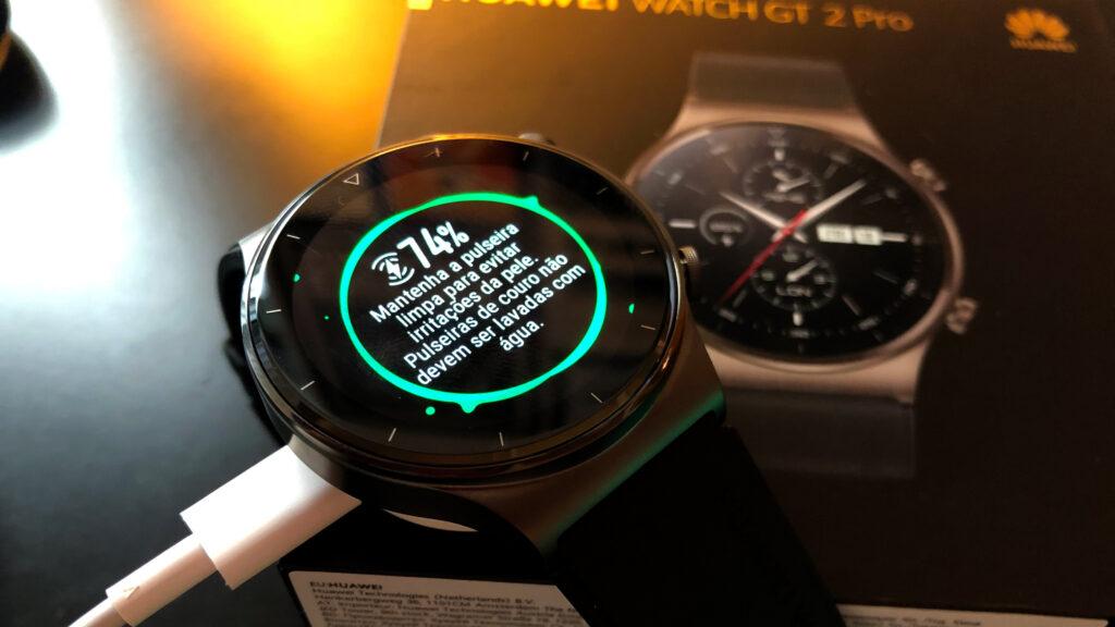 Huawei watch gt 2 pro carregador do relógio