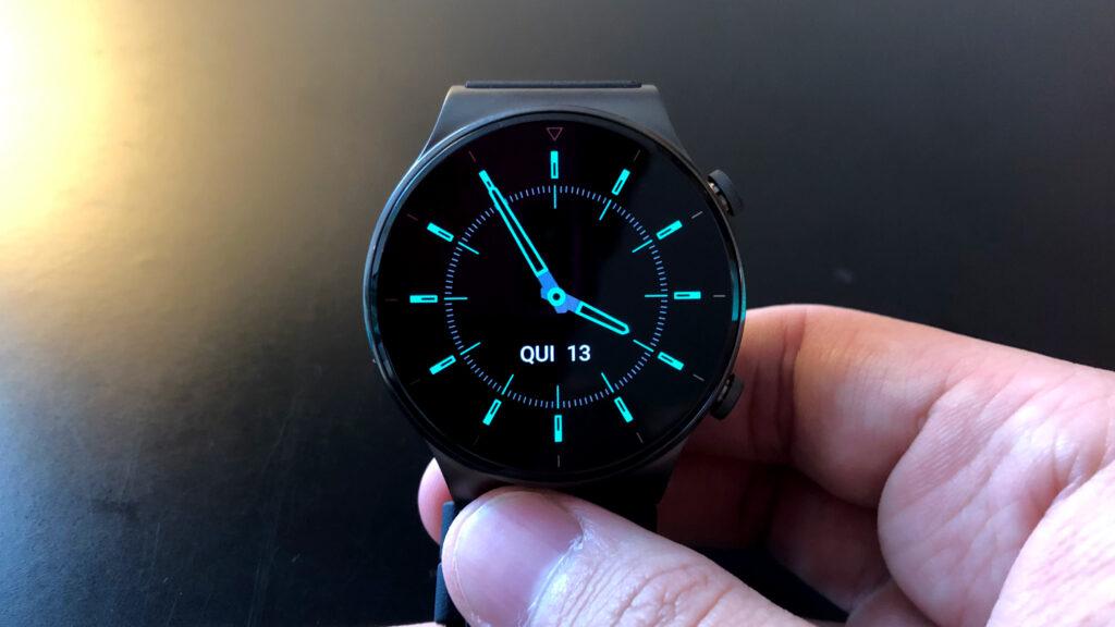 Huawei watch gt 2 pro modo sempre na tela