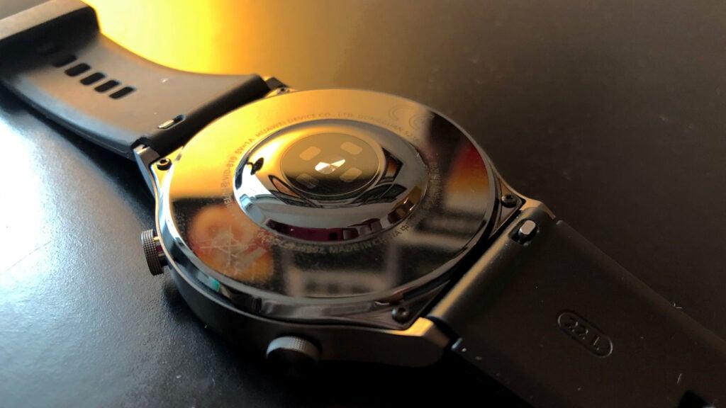 Huawei watch gt 2 pro parte debaixo