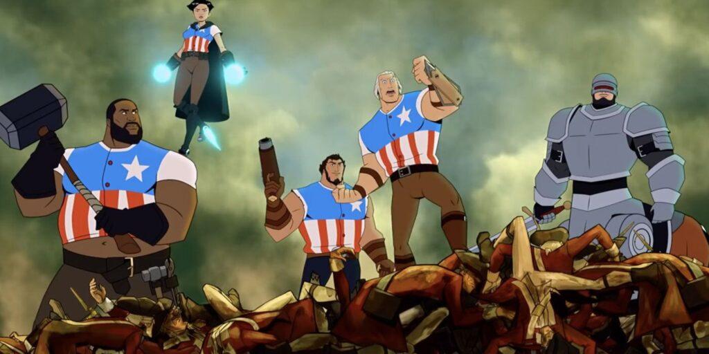 Channing tatum dubla george washington em america: the motion picture