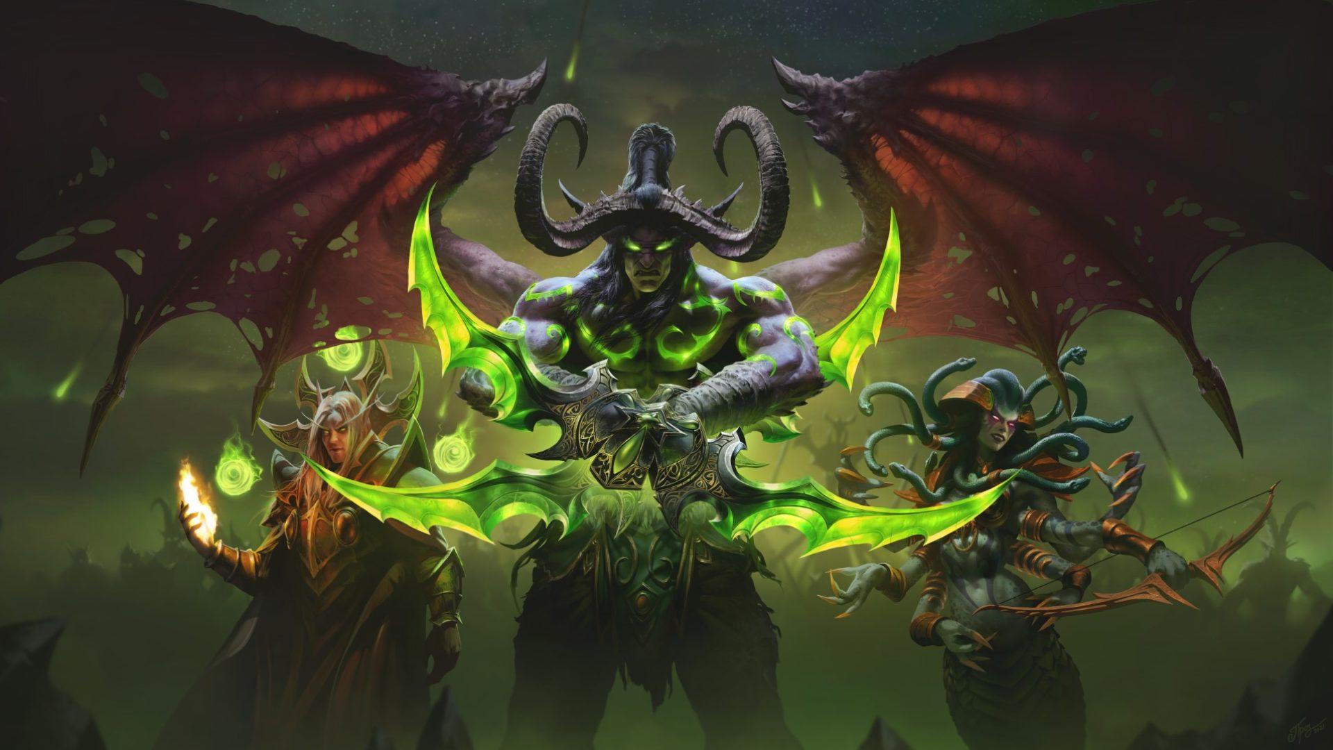World of warcraft burning crusade classic lança em 1º de junho de 2021.