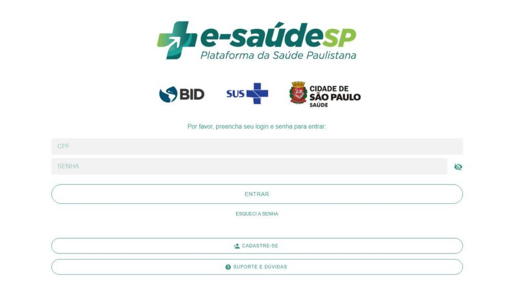 E-saudesp - tutorial