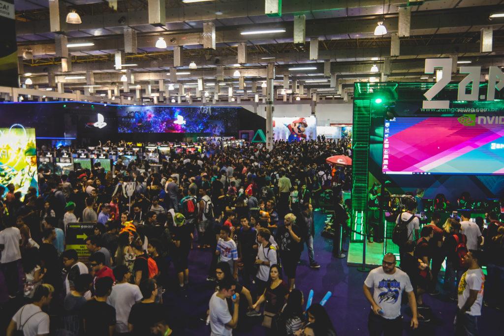 Eventos de jogos em 2021 brasil game show 2021