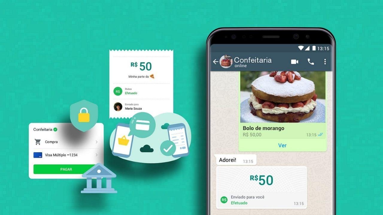 Empresas poderão receber pagamentos via whatsapp. Se o novo recurso for aprovado pelo banco central, as empresas também poderão receber pagamentos via whatsapp pay