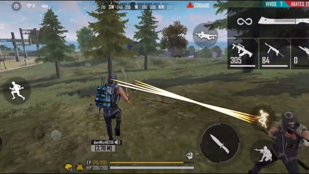 Free fire é um dos jogos mais populares no brasil.