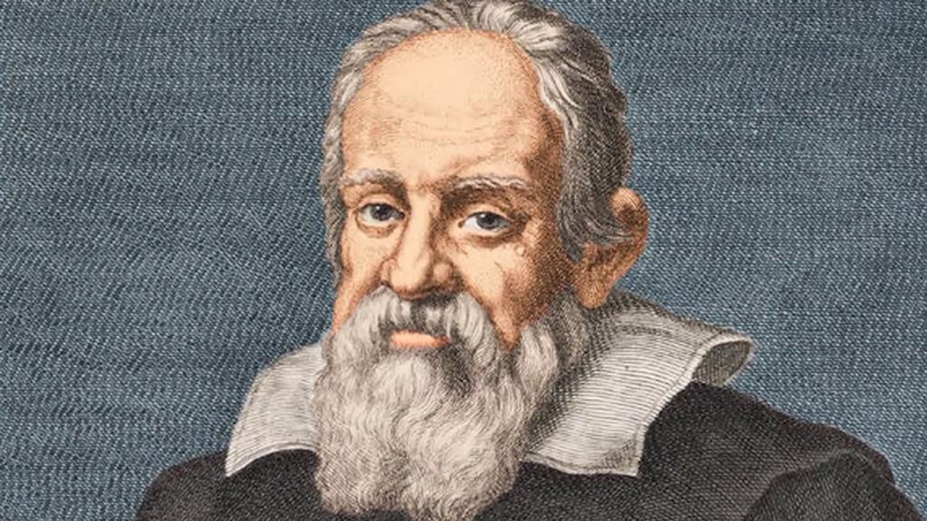 Imagem de galileo galilei, um dos mais influentes inventores da história do telescópio.