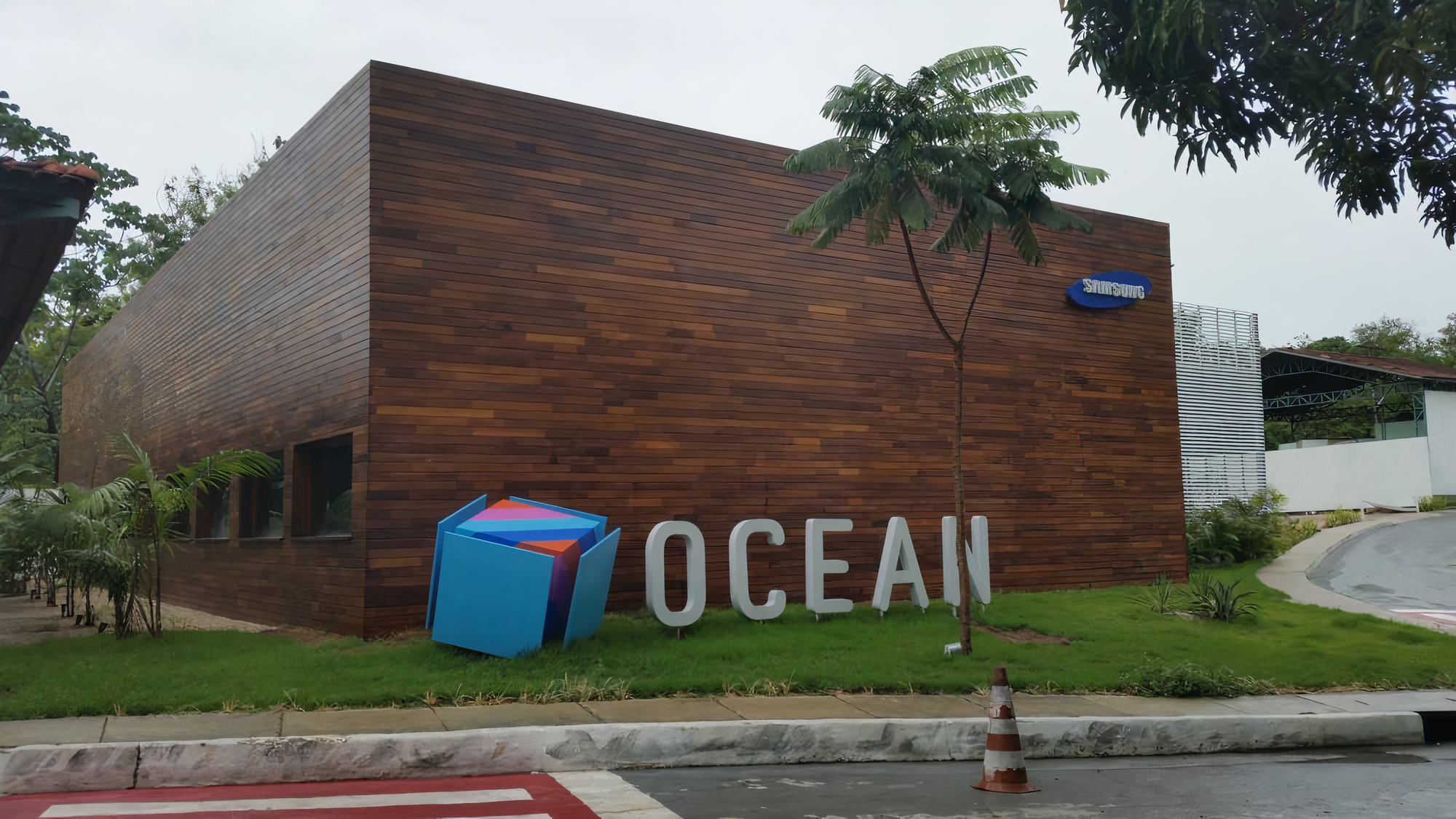 Centro do samsung ocean