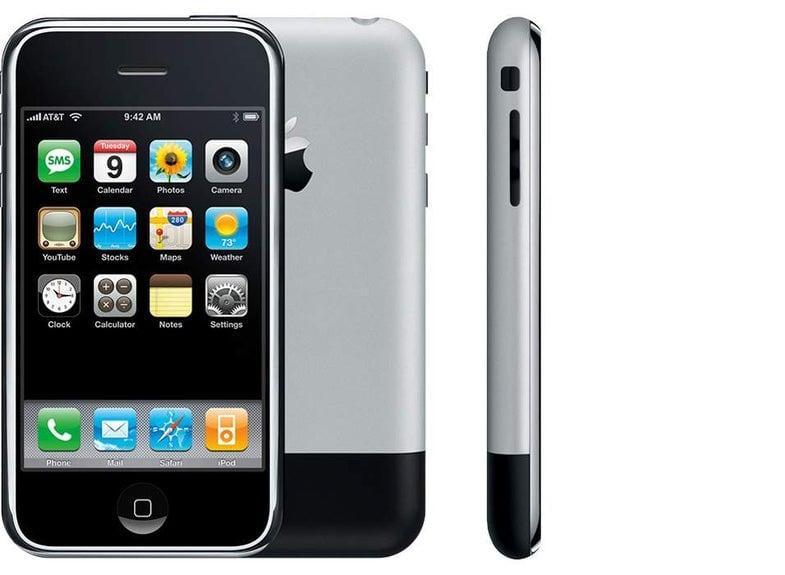 História dos apps - iphone