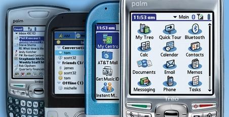 História dos apps - palm os