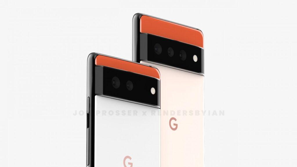 Google pixel 6 vazamento