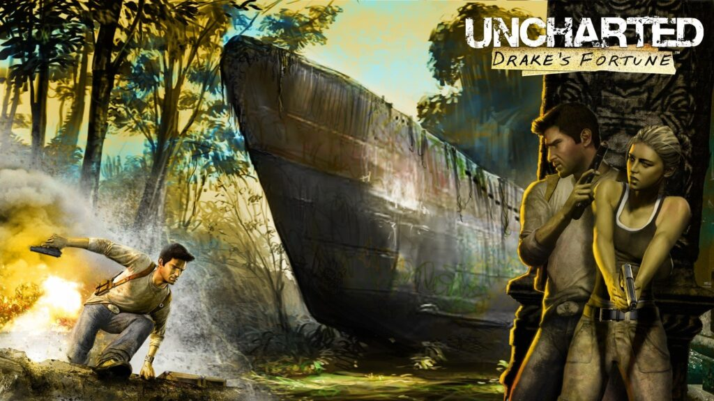 Cena de uncharted.