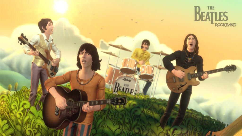 Imagem de the beatles rock band