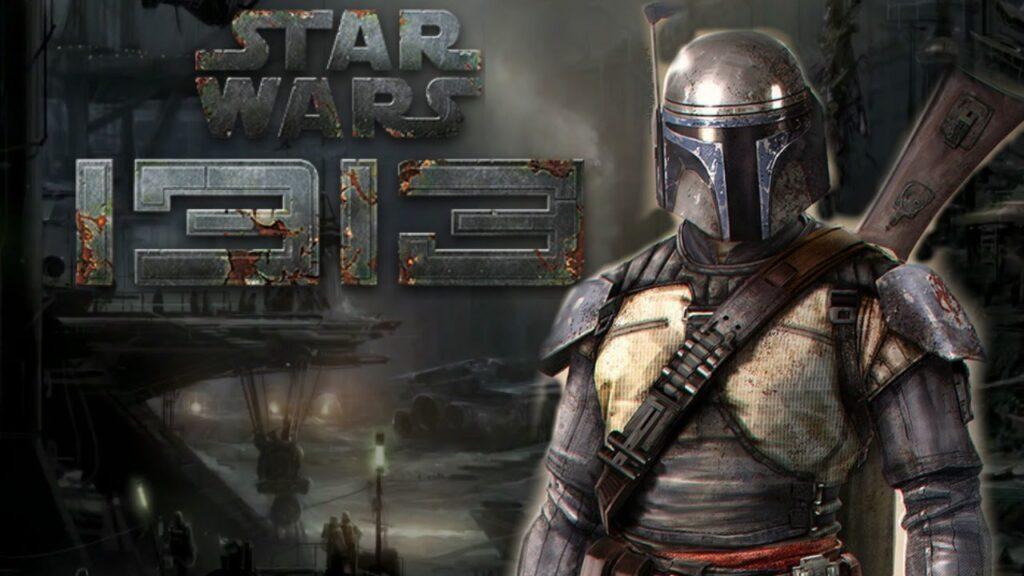 Imagem de star wars 1313 com o protagonista em destaque.
