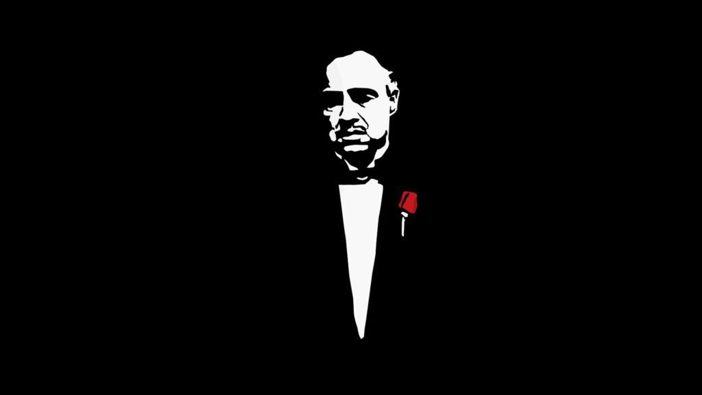 Don vito corleone, o padrinho de o poderoso chefão.