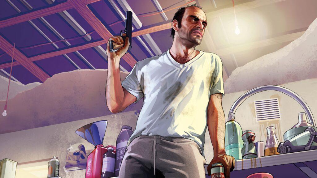 Personagens lgbt nos jogos - trevor philips