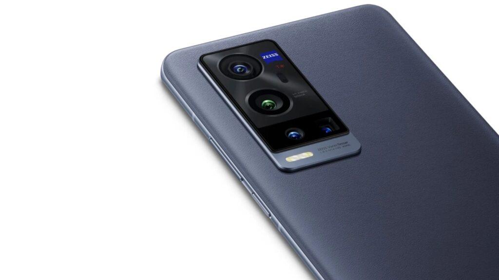 As câmeras do vivo x60 pro plus.