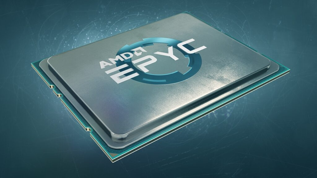 Processador amd epyc para data centers