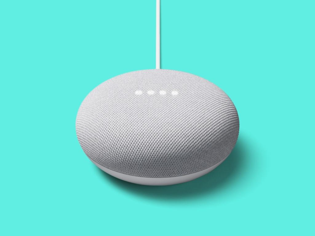 Google nest para caixa de som