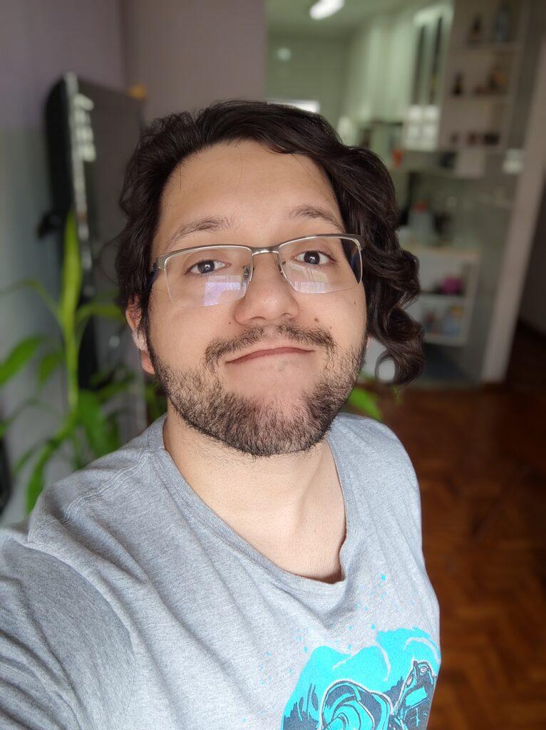 Teste de câmera xiaomi mi 11 ultra modo retrato selfie