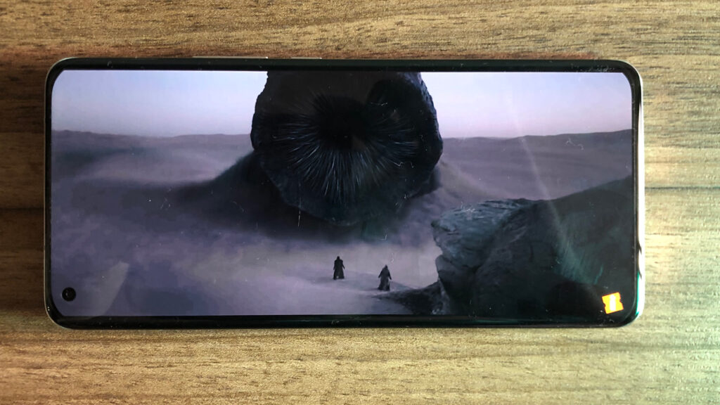 Vendo filmes na tela do mi 11 ultra