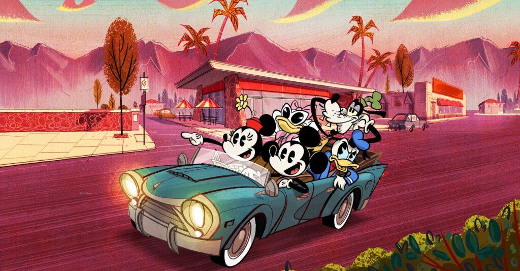 O mundo maravilhoso de mickey mouse traz uma nova roupagem aos clássicos personagens da disney