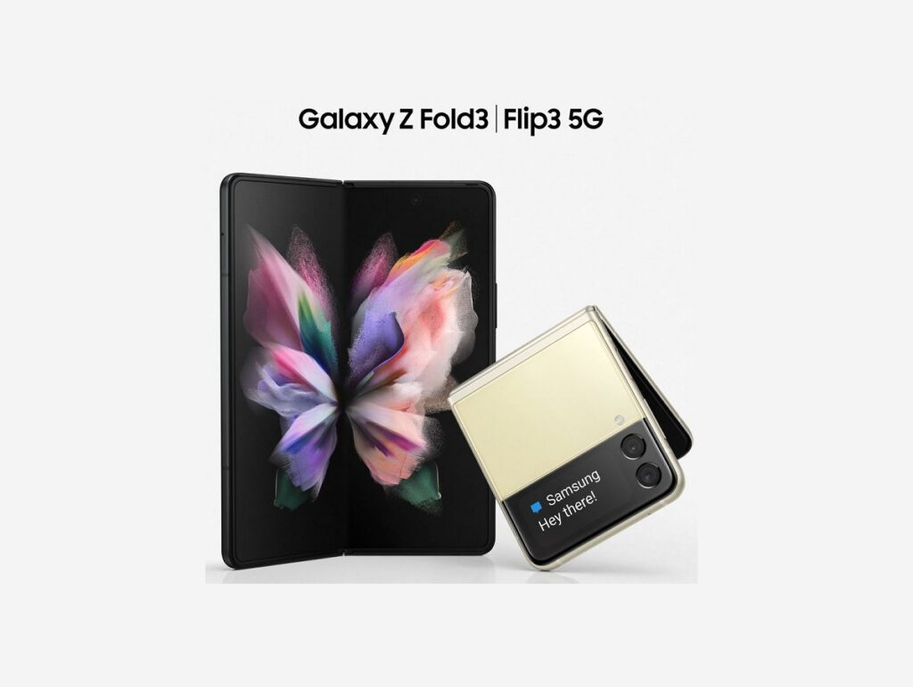 Inédito! Vazam imagens do galaxy z fold3 e do galaxy z flip3
