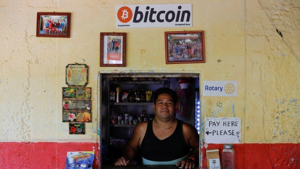 El salvador é o primeiro país a adotar o bitcoin como moeda legal