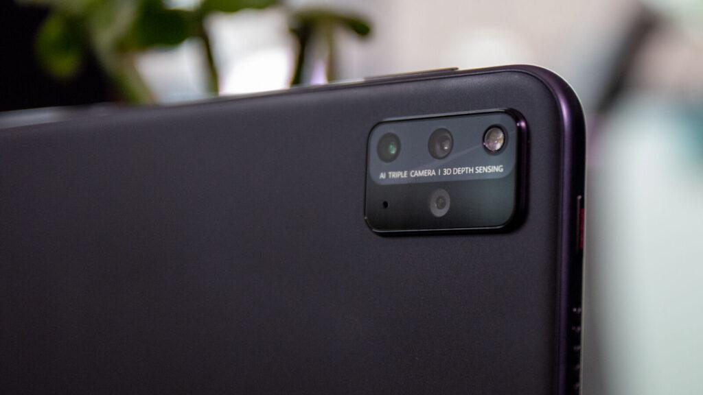 Huawei matepad pro cameras