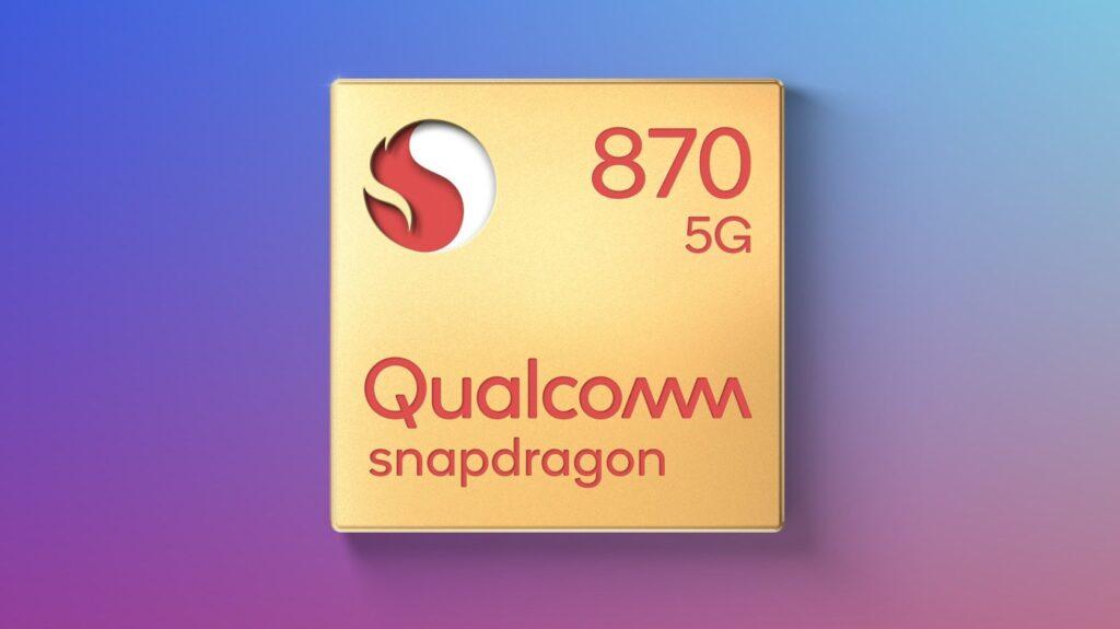 Processador snapdragon 870 da qualcomm traz qualidade premium
