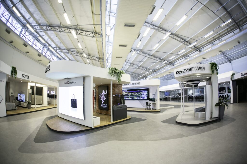 Lg business solutions center