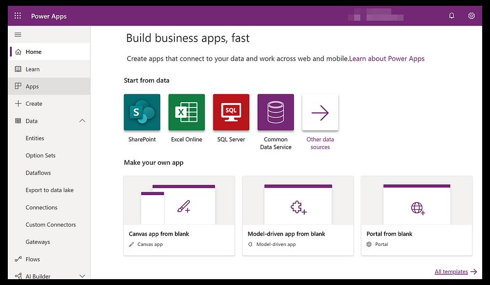 Microsoft power platform promete criação de apps em minutos. Trazendo os princípios de low code para dentro das empresas, as aplicações do microsoft power platform permitem o desenvolvimento de aplicações por não desenvolvedores, e em tempo reduzido