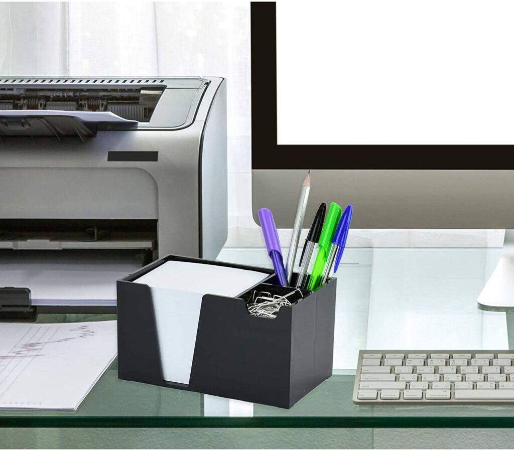 Organizador de mesa para deixar o home office bonito