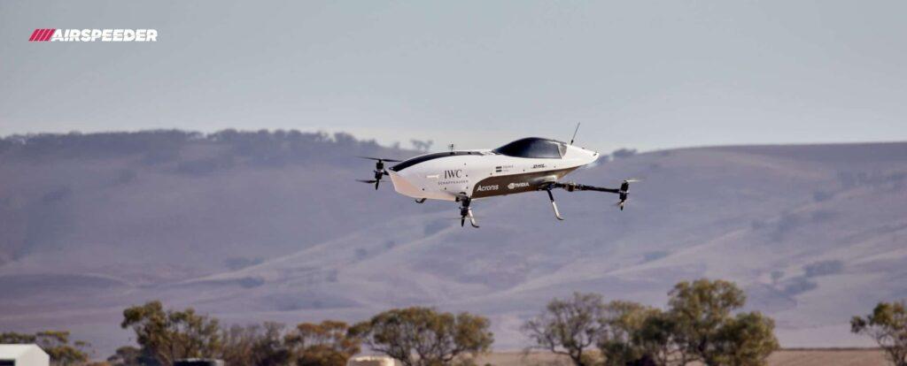 Carro de corrida voador? Sim! Airspeeder anuncia teste bem-sucedido