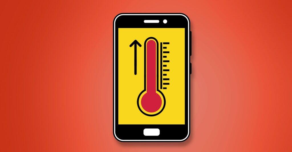 Sempre verifique se seu smartphone não está quente. O calor estraga a bateria