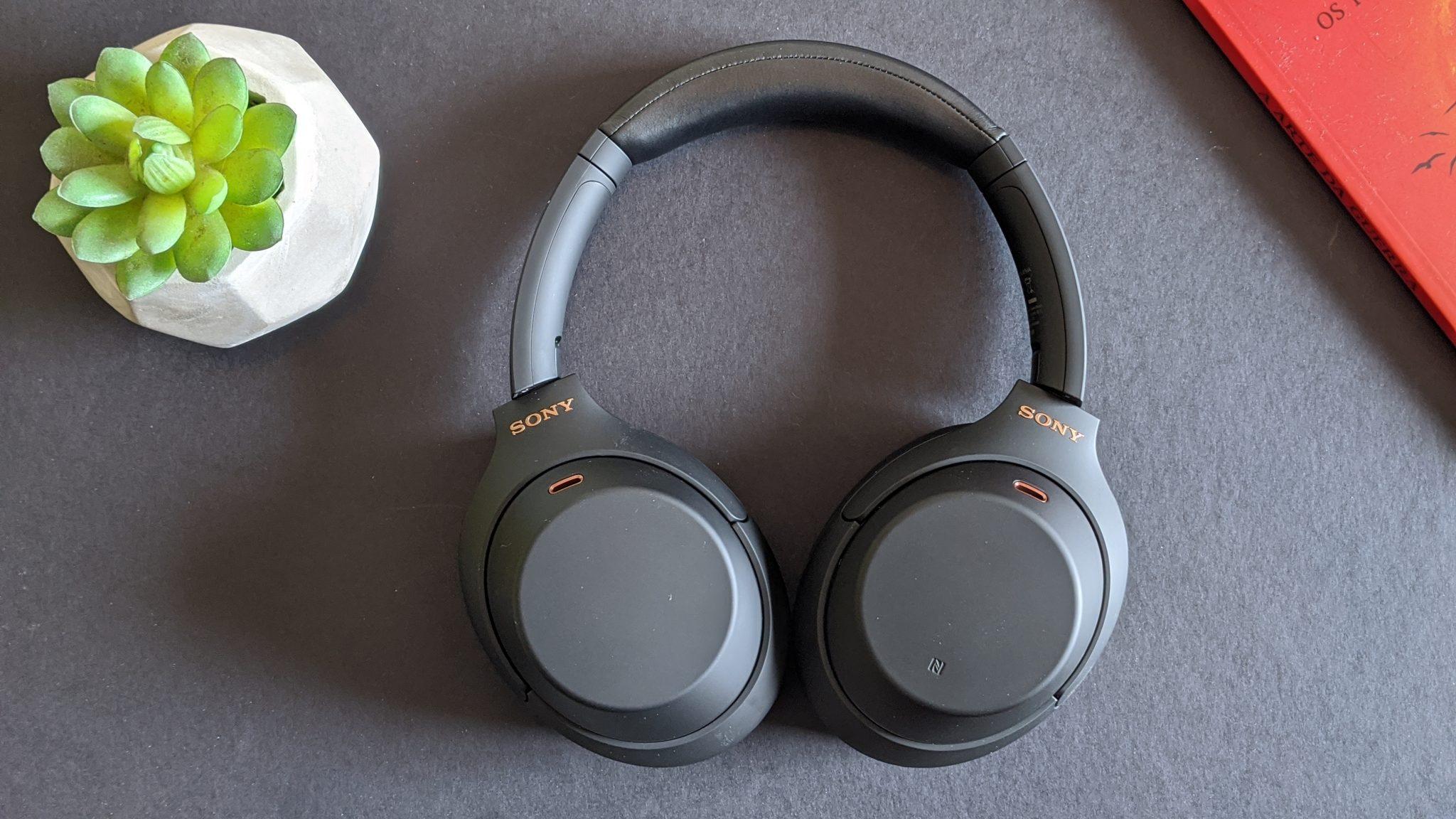 Fones de ouvido da sony