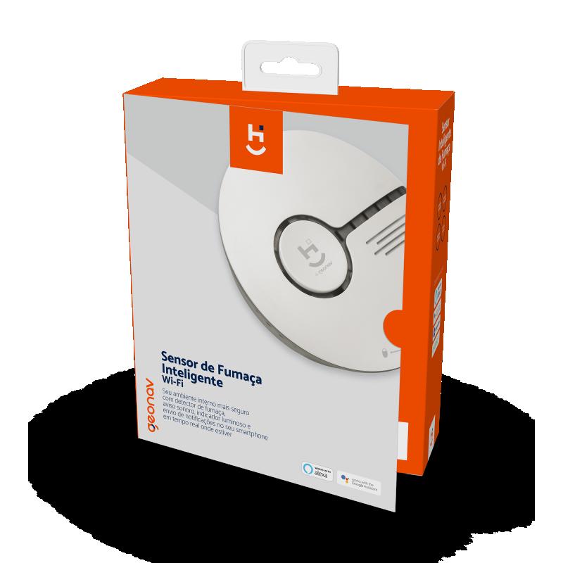 Sensor de fumaça geonav