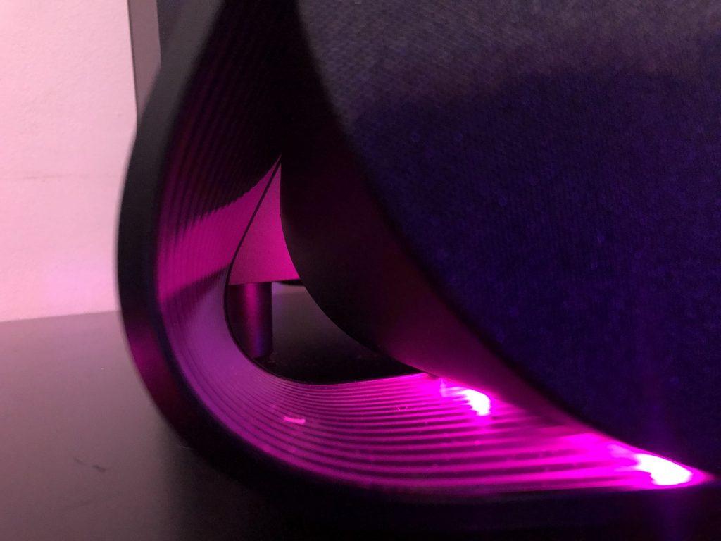 Curvas coloridas do g560