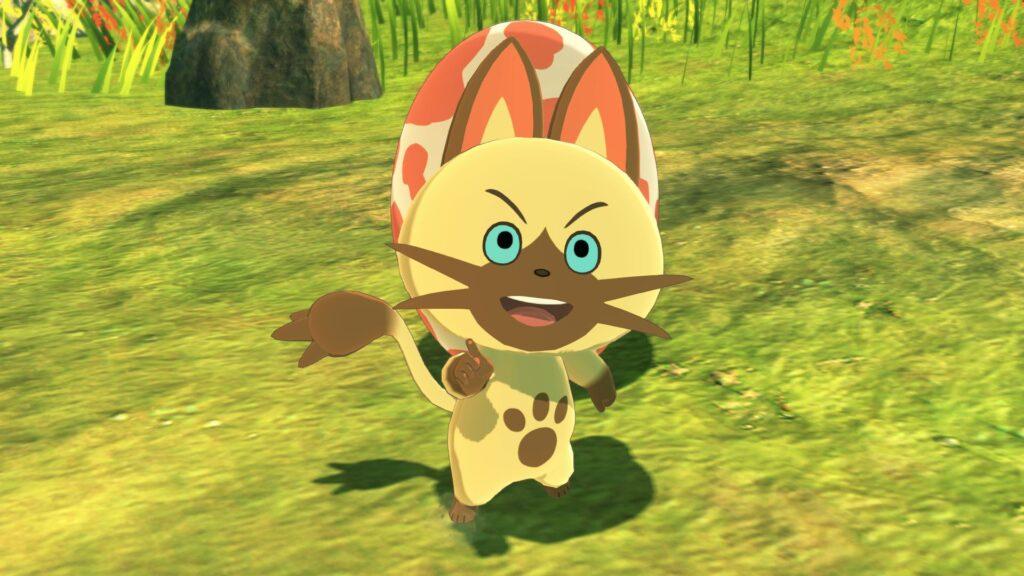 Navirou, um personagem gato de monster hunter stories 2