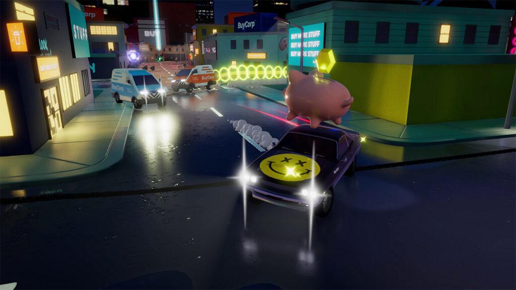 Drive buy é um jogo de combate entre carros ideal para jogar com os amigos