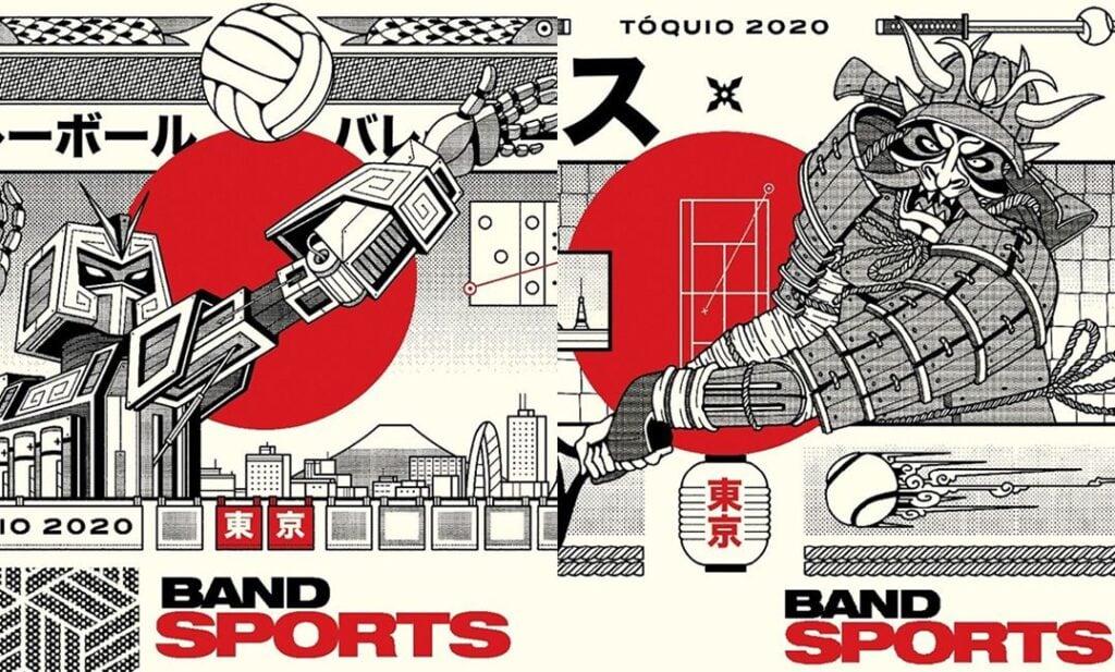 Como assistir as olimpíadas de tóquio - via band