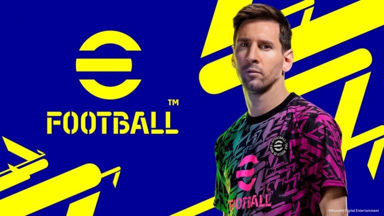 PES virou eFootball, jogo gratuito de futebol multiplataforma