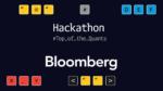 Vencedores do Hackaton da Bloomberg criam soluções para o mercado financeiro