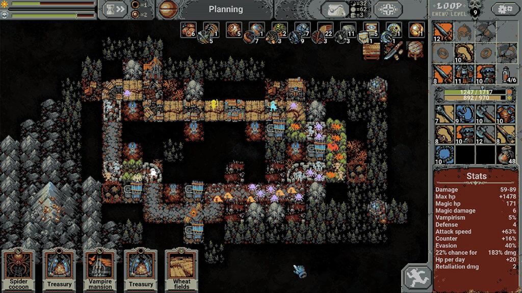 Com premissa de um rpg tradicional, loop hero inova em sua gameplay