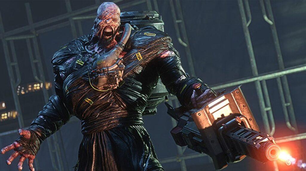 Nemesis, o maior inimigo de resident evil 3.