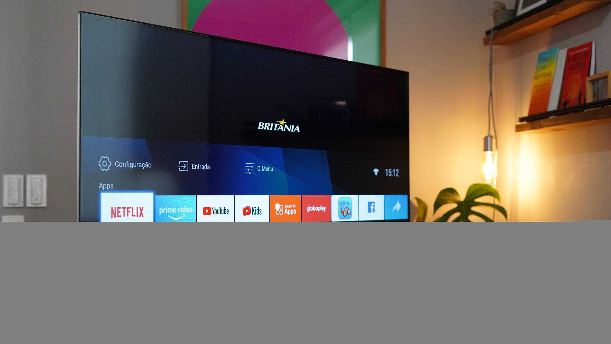 Tv britânia com aplicativos