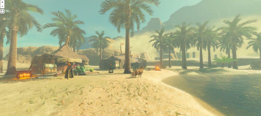 Jogador cria zelda street view, um mapa interativo de hyrule. É possível acessar locais específicos de zelda breath of the wild com o recurso criado para que os jogadores não se percam na imensidão de hyrule