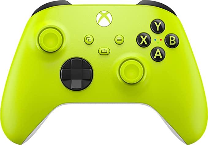 Novas cores do controle xbox